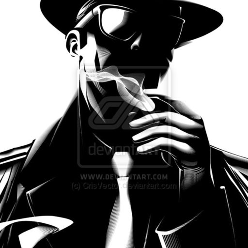 Big gangster by crisvector
