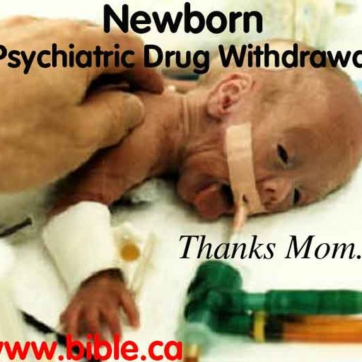 Big psychiatric drug withdrawal neonatal abstinence syndrome newborn